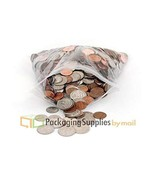40000 Pcs 2 x 5 Clear 2 Mil Poly Plastic Reclosable Zipper Bags - $314.53