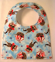 Clearance 25% Off Sale Baby Bib Pirate, Baby Boy Shower Gift Baby Bibs Toddler - $4.50