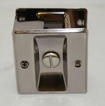 Cal Royal SDL16 Sliding Door Lock Privacy Satin Nickel Oxidized image 4