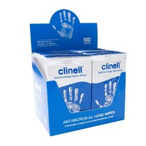 Clinell Antimicrobial Hand Wipes, Individually Wrapped - Box Of 100 - $17.70