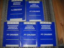 2002 CHRYSLER PT CRUISER Repair Shop Service Manual Set W Diagnostics OE... - $89.10