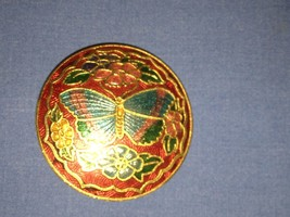 Vintage Ornate Beautiful Butterfly Brooch - $1.97