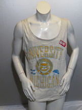Michigan Wolverines Tank Top - Puffer Graphic with School Crest - Mens X... - $49.00