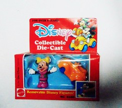 Disney Minnie Mouse Collectible Die-Cast Car and Figure - Mattel 1991 - New - $17.63