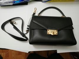NWT Michael Kors Kinsley large Leather  Flap Shoulder Bag Crossbody in B... - $138.59