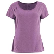 Small 4-6 White Sierra Women's Kalahari II Short Sleeve Tee Shirt Grape NEW