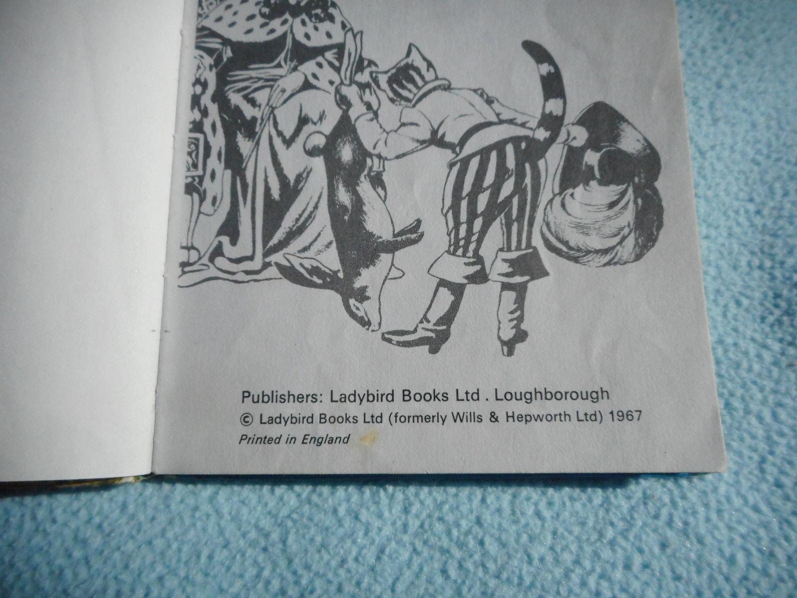 1967 Ladybird Book Puss In Boots Series 606D