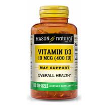Mason Natural Vitamin D 400 IU Softgels - 100 Count, 1183-100A - $12.82
