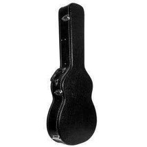 ADM 39 Inch Full Size Hardshell Leather Classical Guitar Case - Black - $80.33