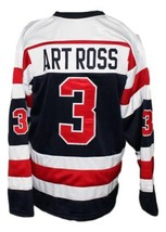 Custom Name # Cobalt Silver Kings Hockey Jersey New Sewn Art Ross Any Size image 2