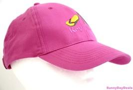 Key West Womens Cap Baseball Flip Flops Embroidered Curved Pink Hat Adju... - $18.99 CAD