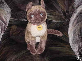 """13"""" Disney TAO Plush Cat The Incredible Journey With Tags - $49.49"""