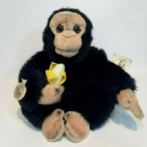 RARE Ganz Lil Marvin Monkey Plush Ape holding Banana Heritage Collection... - $59.99