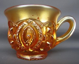 Northwood MEMPHIS Marigold Carnival Glass Punch Cup 5316 - $24.75