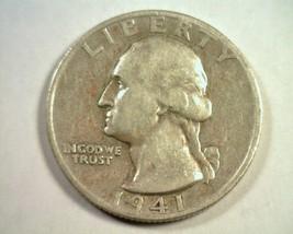 1941-S LARGE S WASHINGTON QUARTER XF EXTRA FINE EF EXTREMELY FINE NICE C... - $55.00