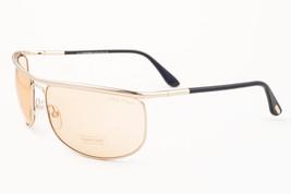 Tom Ford Ryder Rose Gold / Brown Sunglasses TF418 28E - $175.42