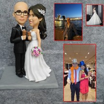 Turui Figurines OOAK polymer clay doll baby wedding favor favour Persona... - $148.00