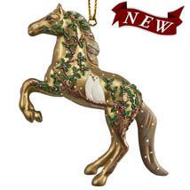 Wonderful Season of Peace Holiday Painted Pony Ornament - $25.95
