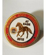 VINTAGE AMVETS WISCONSIN STATE CONVENTION AT EASE 2015 MANITOWOC Lapel Pin - $7.00