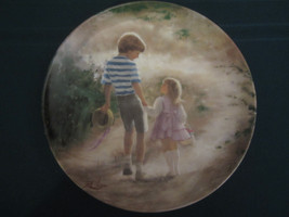 COUNTRY WALK collector plate DONALD ZOLAN Childhood Friendship #6 CHILDREN - $29.02