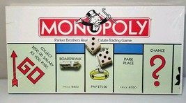 Monopoly Parker Brothers Vintage Estate Trading Game 1985 Board Game New... - $34.62