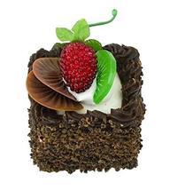 Set of 2 Artificial Cake Lifelike Cake Model Fake Cake Decoration, Choco... - $15.31