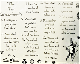 Stamp Camp Unmounted Rubber Stamp The Ten Commandments