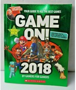 Game On 2018 Book By Gamers For Gamers All The Best Games Cool Secrets - $7.00