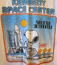 Vintage Peanuts SNOOPY Kennedy Space Center SHUTTLE COMMAND tee T Shirt ... - $199.99
