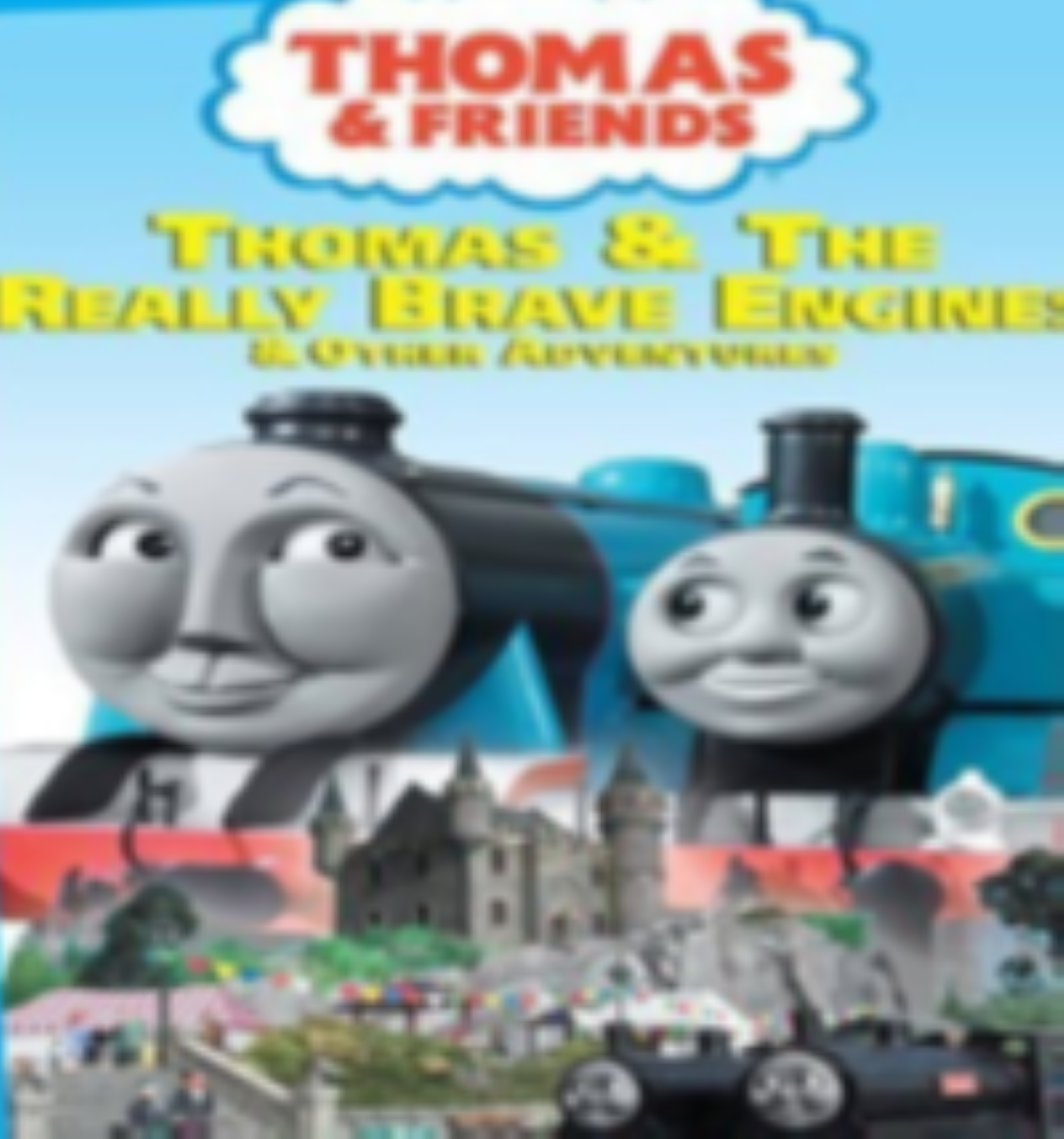 Thomas & Friends: Thomas & the Really Brave Engine Dvd