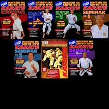 7 DVD Set Power Karate Hayashi Ha Shito Ryu Japanese Martial Art kata we... - $115.00