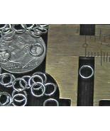 5mm Sterling Silver OPEN Jump Rings 20 gauge (10) - $3.51