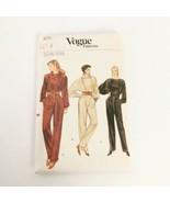 Vogue 8773 Jumpsuit Size 8 One Piece Vintage Sewing Pattern Uncut - $19.99