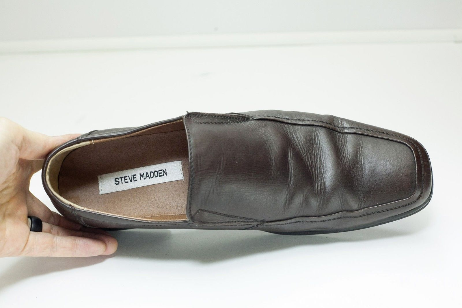 bc064cdc28b Steve Madden 10.5 Brown Slip On Loafers Men s and 50 similar items
