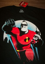 Walt Disney The Incredibles Mr. Incredible & Baby Jack T-Shirt Small New - $19.80