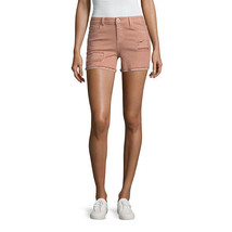 "Vanilla Star 4"" Blush Destructed Midi Shorts-Junior Size 0, 13 New Msrp ... - $17.99"