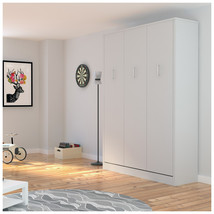 Alexa Queen Wall Bed | White - £1,291.39 GBP
