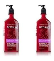 Bath & Body Works Aromatherapy Black Currant Vanilla Body Lotion Twin-pa... - $23.25