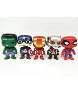 10pcs/set DC Justice League & Marvel Avengers Super Hero Characters Model - $51.95