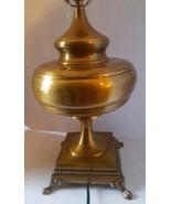 Vintage Brass Wildwood Rocky Mountain Table Lamp - $314.27