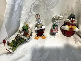 Bugs Bunny Marvin the Martian K-9 Sylvester Ornaments Warner Bros - $24.99