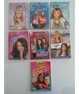 Lot of 7 Pre-Teen Books Lizzie McGuire Hannah Montana PB Book Set Miley ... - $13.85