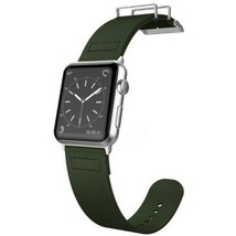 X-Doria 6950941456951 Field Band for 1.7-inch Apple Watch - Olive - $36.23