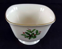 "LENOX China Holiday Dimension Treat Bowl Candy/Nuts 4-1/4"" Dinnerware image 2"