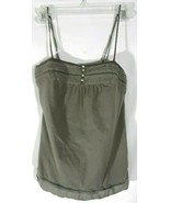 Old Navy Womens Halter Top Small Olive Green AA1 - $9.98