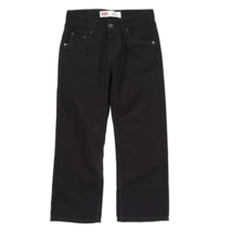 Levi's Boys' Big 550 Relaxed Fit Jeans, Black Magic,14 Husky - SRP $42 - $32.66