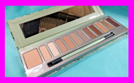 Mally CityChick IN THE BUFF 11pc Eyeshadow Palette Primer + Brush Browns... - $12.37