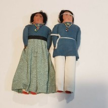 Man and Woman Native American Doll Indian Doll.  - $24.74