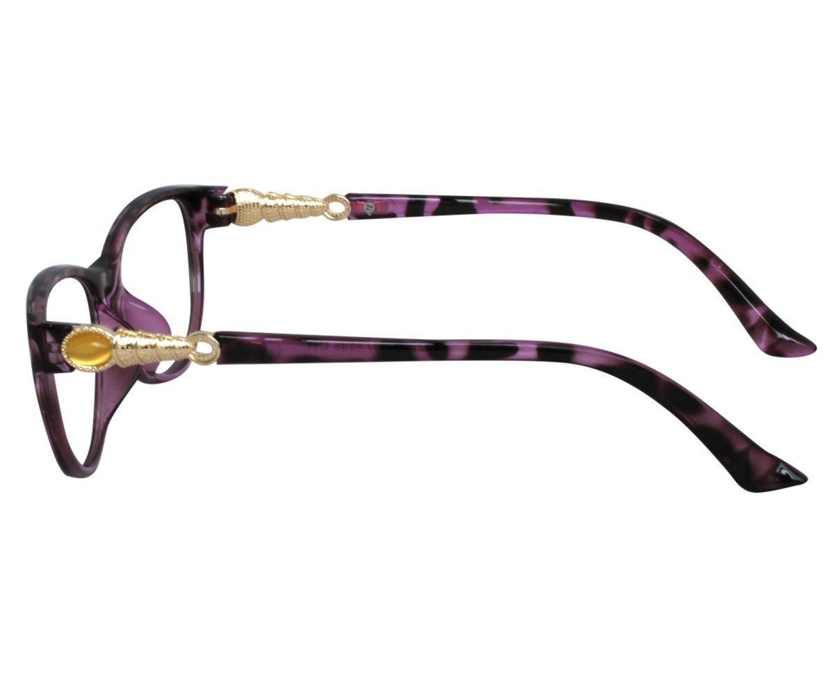 EBE Bifocal Reading Glasses Womens Mens Retro Style Violet Tortoise Cat Eye