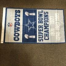 Dallas Cowboys 5x Super Bowl Champions Flag 3x5 FT New Meta Grommets - $24.74
